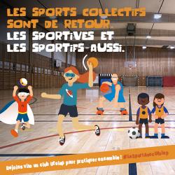 sports collectifs de retour